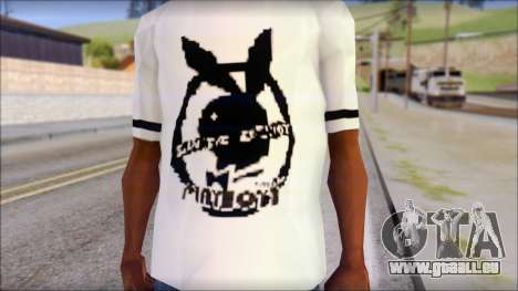 T-Shirt PlayBoy für GTA San Andreas dritten Screenshot