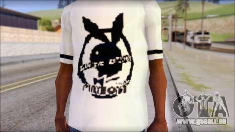 T-Shirt PlayBoy für GTA San Andreas dritten Screenshot