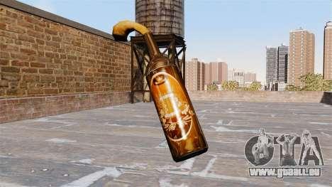 Der Molotow-Cocktail-Bier Vector- für GTA 4 Sekunden Bildschirm