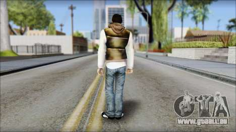 Alex from Prototype Alpha Texture für GTA San Andreas zweiten Screenshot