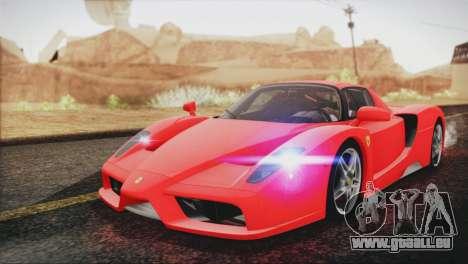 Ferrari Enzo 2002 pour GTA San Andreas vue arrière