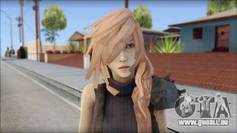 Final Fantasy XIII - Lightning Lowpoly für GTA San Andreas dritten Screenshot