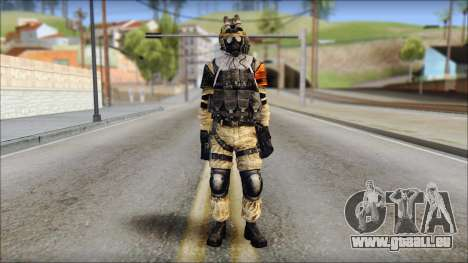 Opfor PVP from Soldier Front 2 pour GTA San Andreas