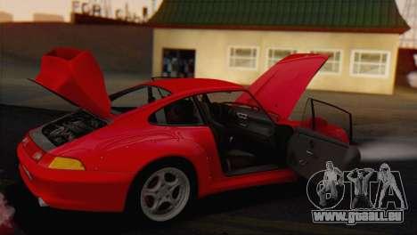 Porsche 911 GT2 (993) 1995 V1.0 EU Plate pour GTA San Andreas vue de côté