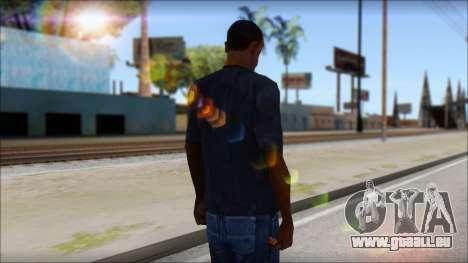 Gucci T-Shirt pour GTA San Andreas deuxième écran