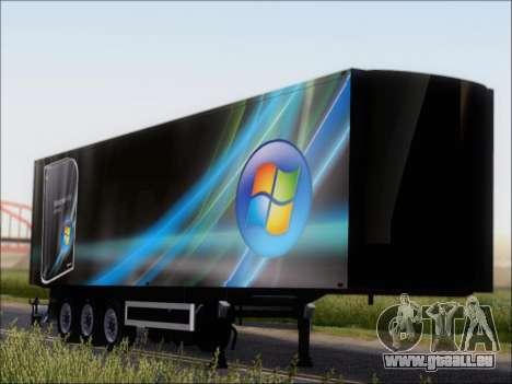 Прицеп Windows Vista Ultimate pour GTA San Andreas