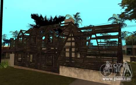 Das Haus von Call of Duty 4 für GTA San Andreas zweiten Screenshot