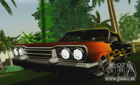 Savanna Coupe für GTA San Andreas rechten Ansicht
