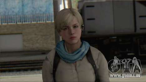 Sherry Birkin Asia from Resident Evil 6 für GTA San Andreas dritten Screenshot