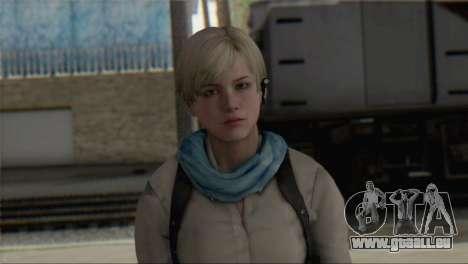 Sherry Birkin Asia from Resident Evil 6 pour GTA San Andreas troisième écran