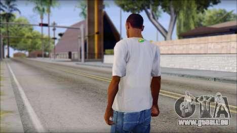 JDM Keep Calm T-Shirt pour GTA San Andreas deuxième écran