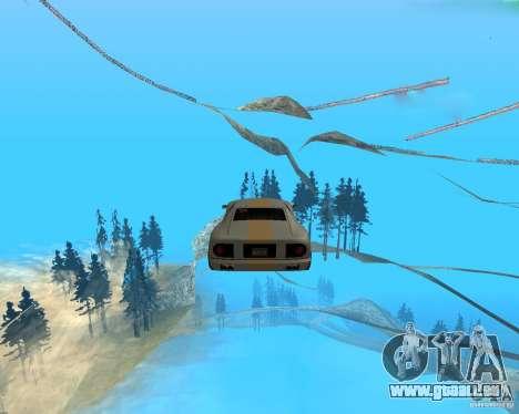 Surf and Fly pour GTA San Andreas deuxième écran
