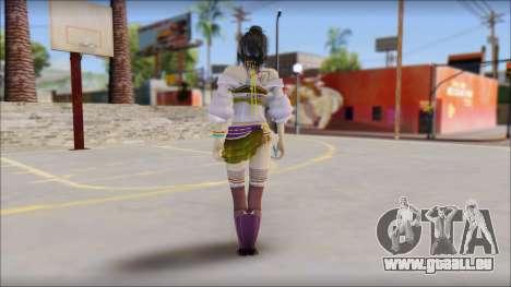 Lebreau From Final Fantasy pour GTA San Andreas deuxième écran
