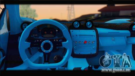 Pagani Zonda UNO für GTA San Andreas Seitenansicht
