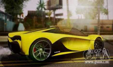Grotti Turismo R V.1 pour GTA San Andreas laissé vue