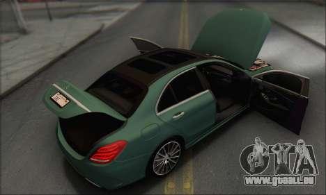 Mercedes-Benz C250 V1.0 2014 für GTA San Andreas Motor