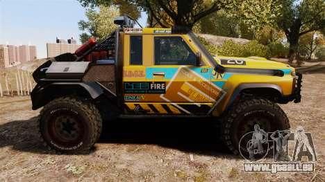 Nissan Patrol Buggy für GTA 4 linke Ansicht