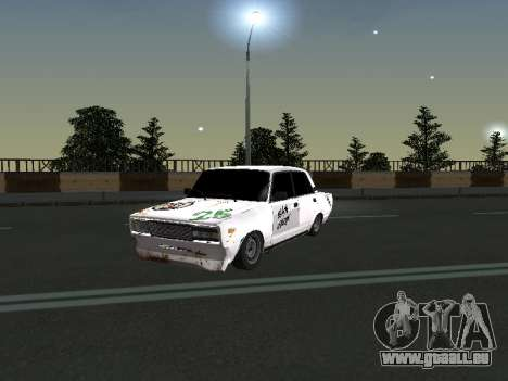 VAZ 2107 Clochard pour GTA San Andreas