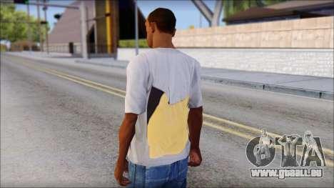 T-Shirt Hands pour GTA San Andreas deuxième écran