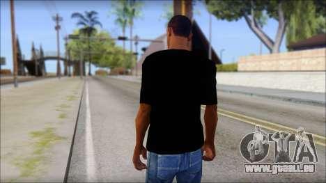 Trapheim T-Shirt Mod pour GTA San Andreas deuxième écran