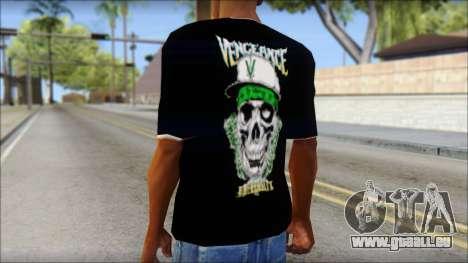 A7X New T-Shirt pour GTA San Andreas deuxième écran