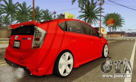 Toyota Prius Tunable pour GTA San Andreas vue intérieure