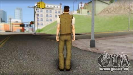 Jamie pour GTA San Andreas deuxième écran