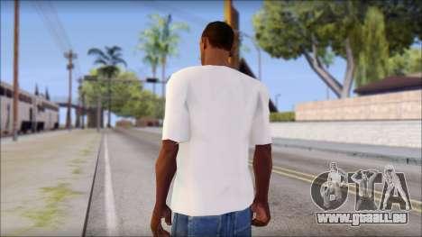 Free Bird T-Shirt für GTA San Andreas zweiten Screenshot