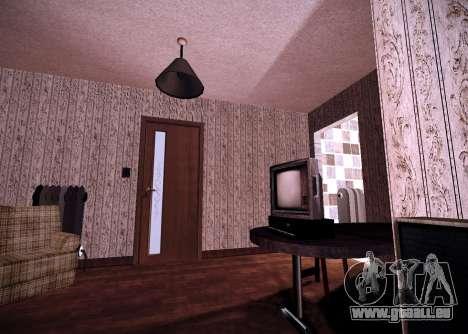 Das innere der Wohnung für GTA San Andreas zweiten Screenshot