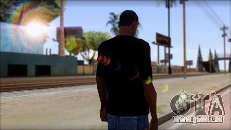 Diablo T-Shirt pour GTA San Andreas deuxième écran