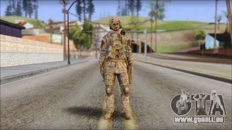 Desert SFOD from Soldier Front 2 für GTA San Andreas