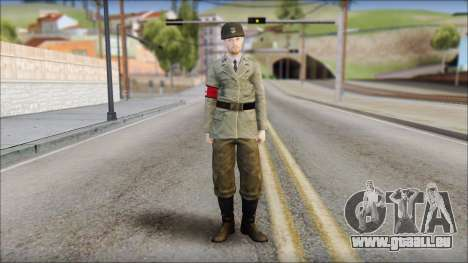 Wehrmacht soldier pour GTA San Andreas