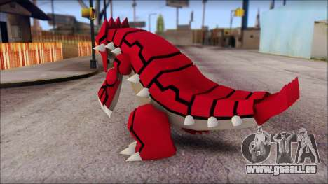 Groudon Pokemon für GTA San Andreas zweiten Screenshot