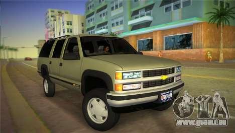 Chevrolet Suburban 1996 GMT400 für GTA Vice City