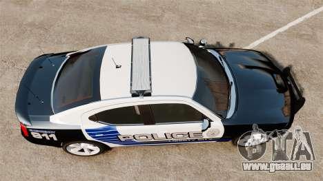 Dodge Charger SRT8 2010 [ELS] für GTA 4 rechte Ansicht