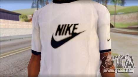 Nike Shirt für GTA San Andreas dritten Screenshot