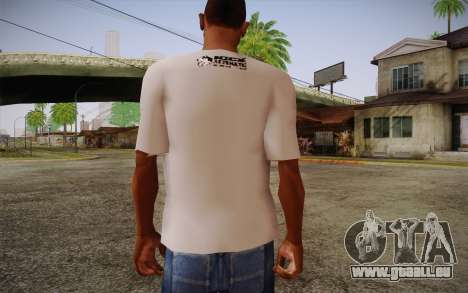 Nick Automatic T-Shirt für GTA San Andreas zweiten Screenshot