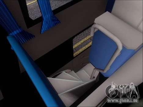 Metalsur Starbus DP 1 6x2 - La Veloz del Norte pour GTA San Andreas vue de dessous