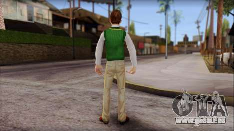 Donald from Bully Scholarship Edition für GTA San Andreas dritten Screenshot