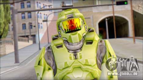 Masterchief Green from Halo pour GTA San Andreas
