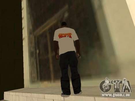 T-Shirt Enseignant pour GTA San Andreas deuxième écran