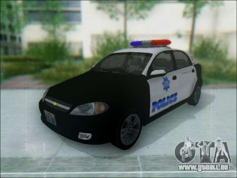 Chevrolet Lacetti Police für GTA San Andreas