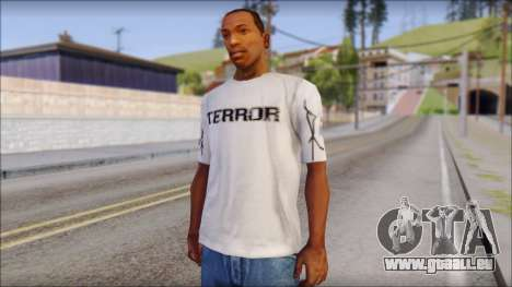 Terror T-Shirt Hardcore pour GTA San Andreas