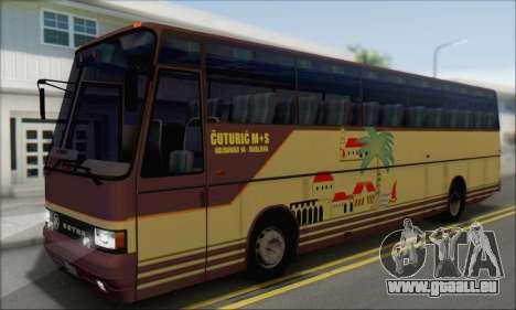 Setra S215 HD pour GTA San Andreas vue de droite