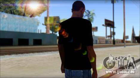 Black Sabbath T-Shirt v1 für GTA San Andreas zweiten Screenshot