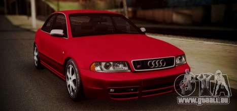 Audi S4 Stock 2000 pour GTA San Andreas laissé vue