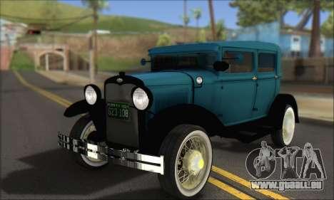 Ford A 1930 für GTA San Andreas
