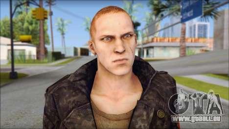 Jake Muller from Resident Evil 6 pour GTA San Andreas troisième écran