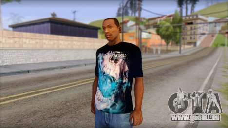 Avenged Sevenfold Nightmare Fan T-Shirt pour GTA San Andreas