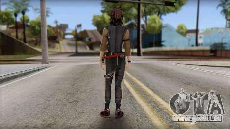 Rebecca pour GTA San Andreas deuxième écran
